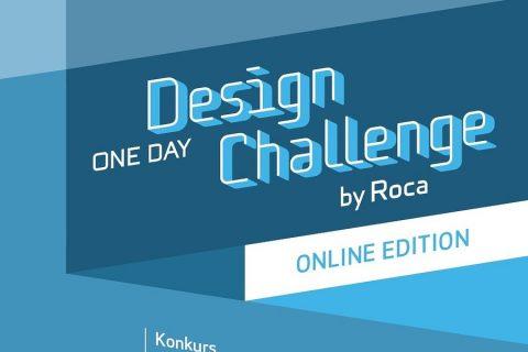 Plakat konkursu Roca One Day Design Challenge