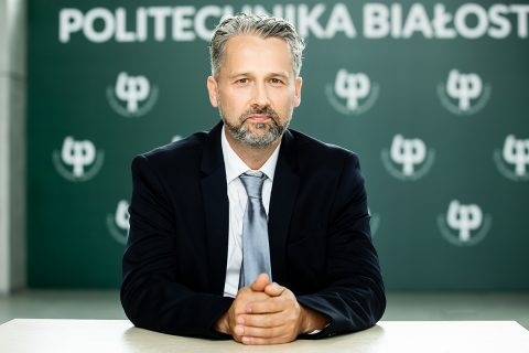 Prorektor ds. Studenckich Politechniki Białostockiej dr hab. inż. Jarosław Szusta, prof. PB
